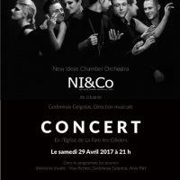 New Ideas Chamber Orchestra (NICO)- de Lituanie!