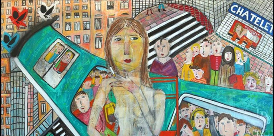 Linos Štalytės koncertas ir Melissa Streicher darbų paroda