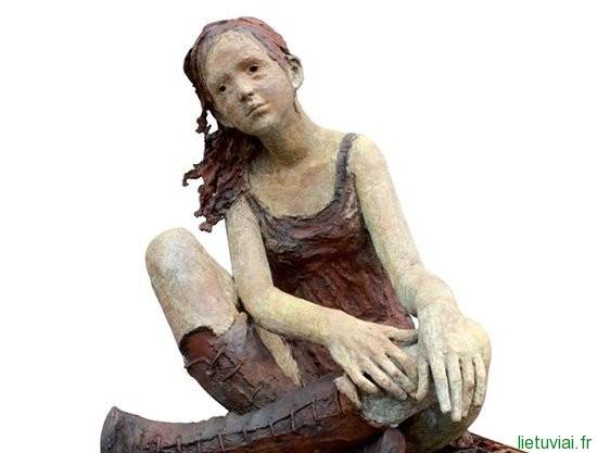 Skulptorės Jurgos Martin paroda Montpellier