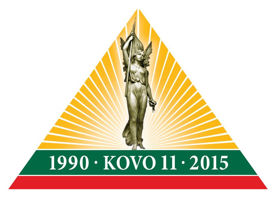25ème anniversaire de la restauration de l'Indépendance de la République de Lituanie