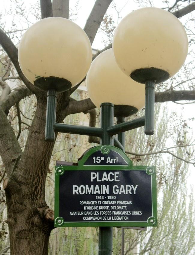 Rašytojo ir diplomato Romain Gary pėdsakai Paryžiuje ir Nicoje