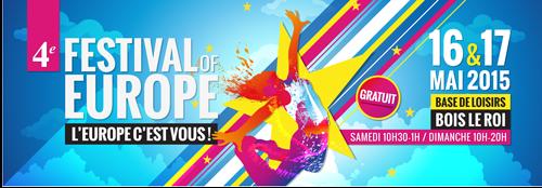 Kvietimas į Europos festivalį gegužės 16-17d. miestelyje Bois-le-Roi