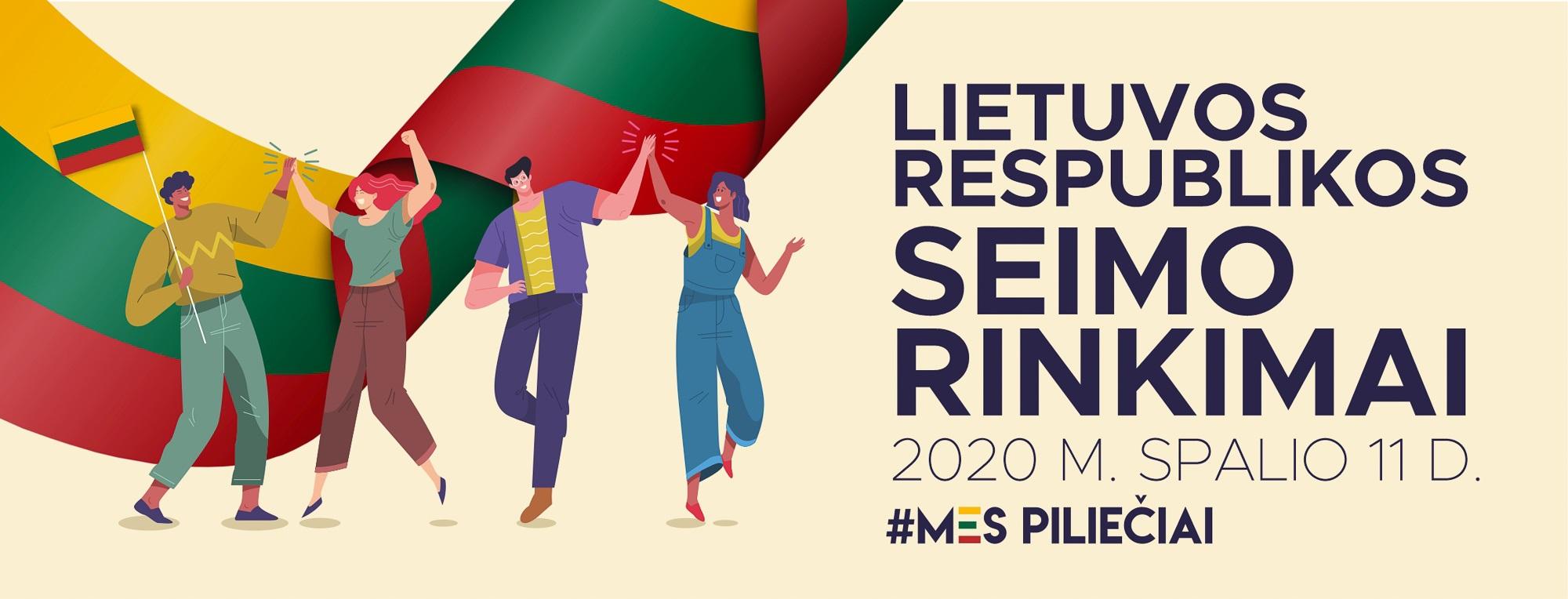Balsuokime Seimo rinkimuose!