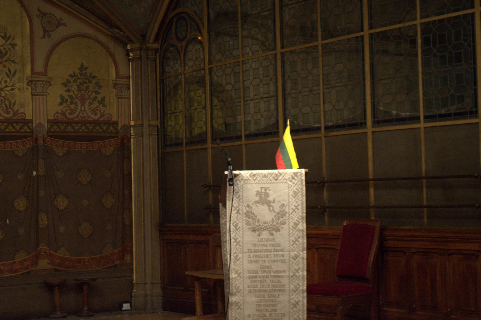 DĖMESIO! Keičiasi lapkričio mėnesio lietuvių bendruomenės susitikimo data